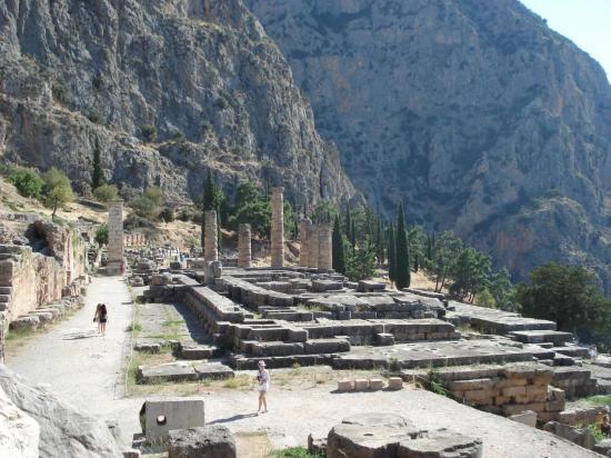 Delphes Temple d'Apollon